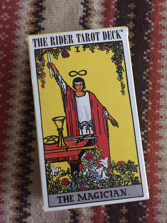 The RIDER TAROT DECK Rider Waite Tarot Deck Tarot Cards