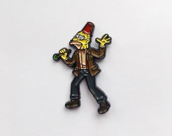 SALE!! Dr Who x Simpsons enamel pin badge