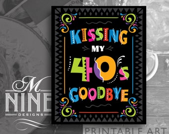 kissing 40s goodbye etsy