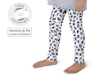 Funny Bug Mommy & Me Leggings | Matching Outfit | Baby Leggings | Matching Mother Daughter Leggings | Wild Girl Leggings | Loopy Jayne
