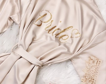 Bridesmaid Robes Silky Lace Robe 366439f00