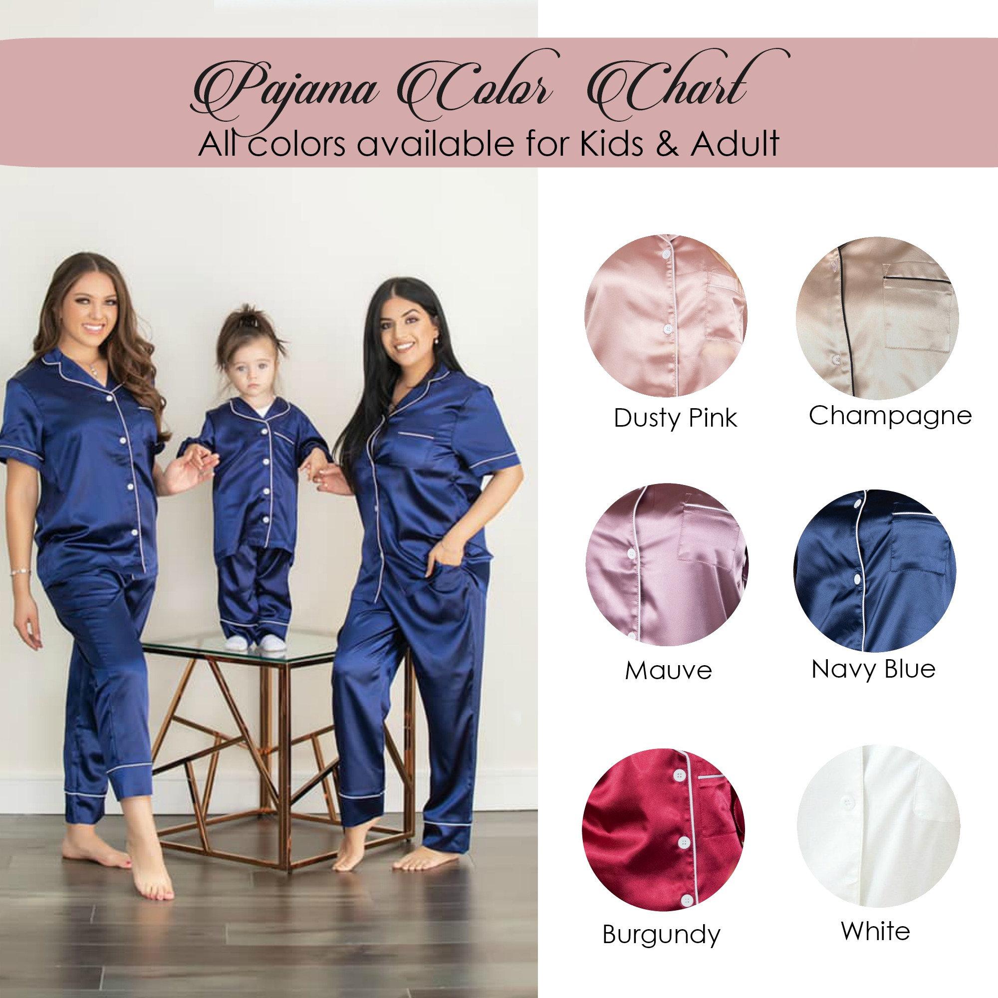 Matching pjsKIDS/ADULT Personalized Short Sleeve pants pajama image 8