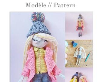 Bridgette - Crochet doll pattern