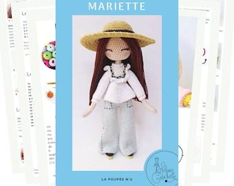 Mariette - Crochet dol pattern