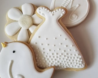bridal shower cookie collection