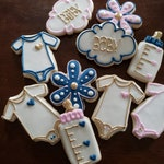 Baby Shower Cookies Any Color