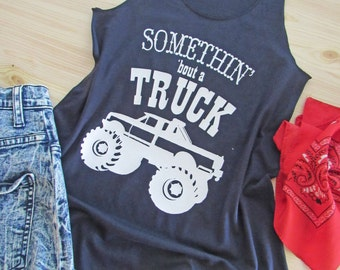 10c06d3353a5eb Somethin  bout a TUCK  Country Tank Top  Racerback Tank  Workout tank