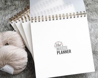 PLANNER // crochet knit yarn pattern designer maker creative business pattern tester planner journal tracker // The Maker Planner