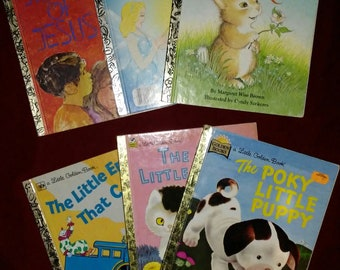 Vintage Little Golden books Lot