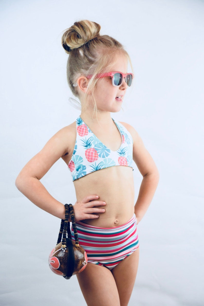 73b9c2525669f Swimsuit   Swimwear  bikini Top   Tween Swimwear  Girls