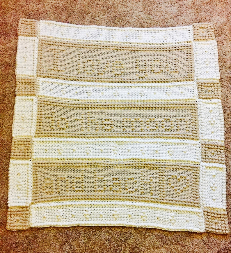 I Love You to the Moon and Back nursery blanket baby blanket