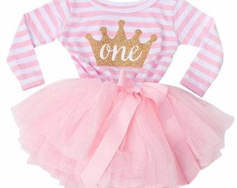 bdbb55ac9ee9 Baby girl 1st birthday outfit