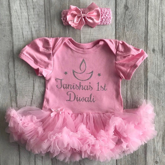 BABY GIRL PINK tuturomper dress GRANDPARENT Nana NEWBORN Princess Love Gift Cute