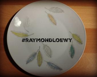 Form 2000 Rosenthal / Raymond Loewy / Bunte Blatter / colorful leaves