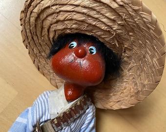 South American Doll, Goucho, Vintage & Retro