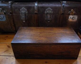Edwardian (1901-1910) Boxes/chests Antique Edwardian Oak Bible Box Latest Technology