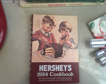 Hershey's 1934 Cookbook by Hershey Chocolate Company, 1983