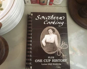 Southern Cooking by Lorine Olliff Hendricks, 1991 / Southern Recipes / Southern Cooking Recipes / Country Recipes / Southern Cookbook