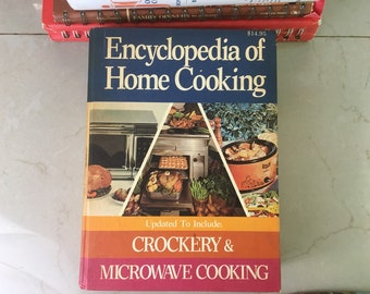 Encyclopedia of Home Cooking, 1976 from Culinary Press
