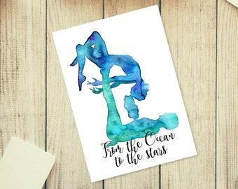 Biglietto di auguri. Buon compleanno Yoga: Yin Yang. Misure | Etsy