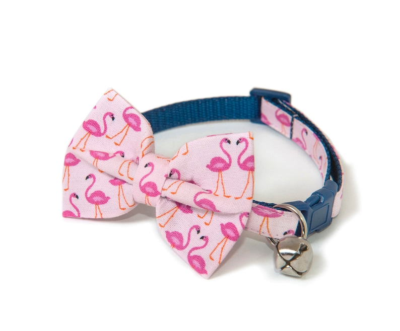 The Florida  Bow ties for cats  Handmade  Pink bow tie  image 0