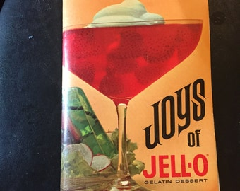 Vintage Joys of Jello Recipe Book