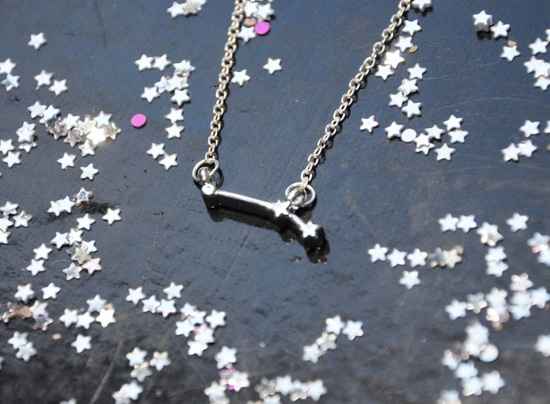 5a49145e1d6dd Aries necklace, Zodiac jewelry, Gift for daughter, Astrology gift, New Mums  gift, Birthday Star sign, 30th Birthday gift, Universe jewelry