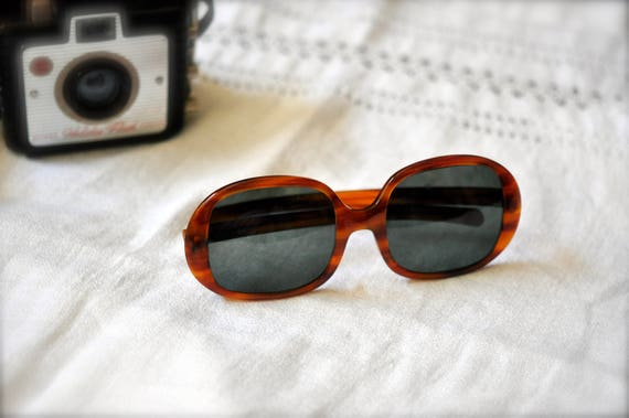 60   s Vintage Bausch   Lomb Ray-ban dames tortue grosse   Etsy fd2dd9a1dc57