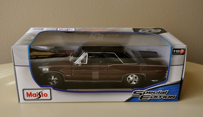 Pontiac Gto 2014 >> Maisto Special Edition 1 18 Scale Diecast 1965 Pontiac Gto 2014 China