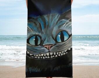 The Cheshire Cat Alice In Wonderland Towel