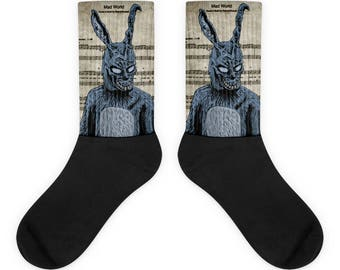 Donnie Darko Mad World Square Socks