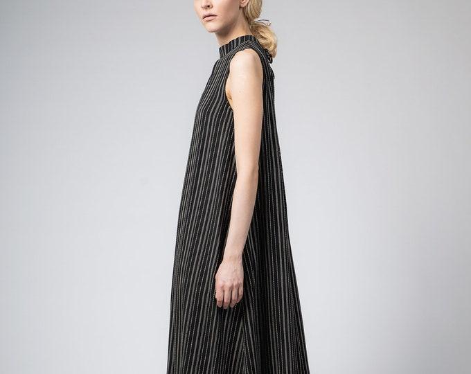 Black summer dress, Casual long dress, Maternity dress,Plus size Bohemian clothing, Long black cotton dress organic sustainable clothing