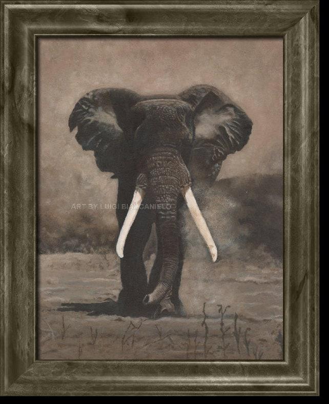 Elefant Elefanten Elefant Kunst Elefant Elephant Malerei | Etsy