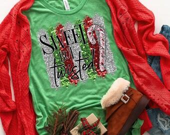 Periodic Table Shirt Science Shirt Christmas T-Shirt Holiday T-Shirt Women/'s CaNdY CaNe Periodic Table T-Shirt Candy Cane Shirt