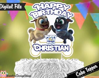 Puppy Dog Pals Cake Topper Etsy