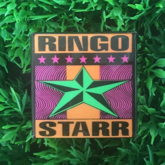 Ringo Starr Button