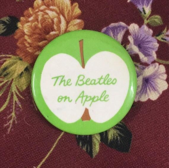 Beatles On Apple Pin