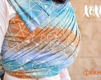xoxo buckle wrap baby carrier - tekhni wrap conversion: delta beach