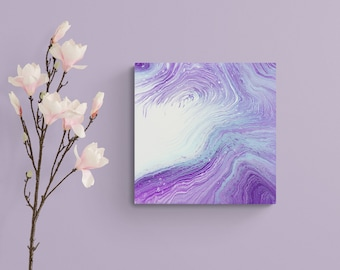 """ORIGINAL ABSTRACT PAINTING """"Dreamy Peace Visions"""" 