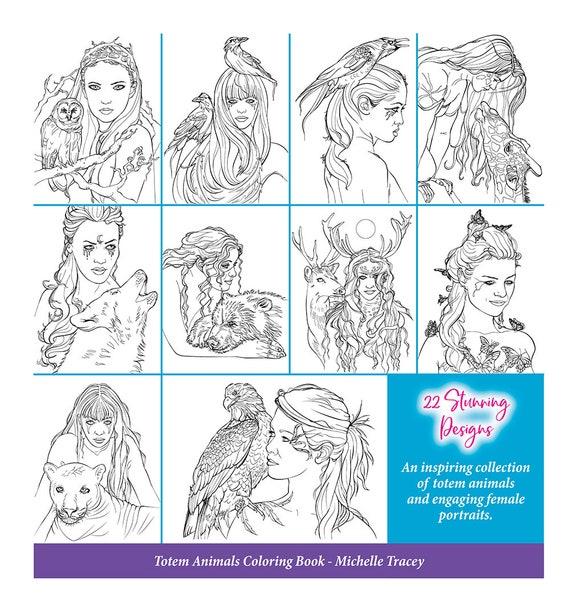Spirit Animal Guides Pdf Coloring Book Toyskids Co