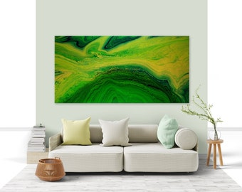 """ORIGINAL ABSTRACT PAINTING """"Sacred Earth Healing"""" 