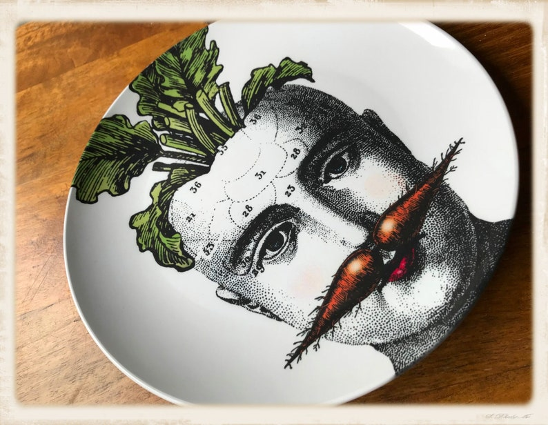 Botanical artwork II ThermoS\u0101f\u00ae Plate dinnerware