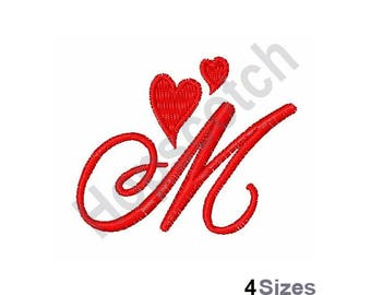Valentine Hearts Font M