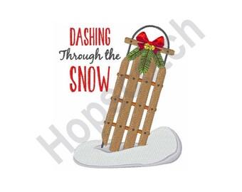 Dashing Through Snow Etsy