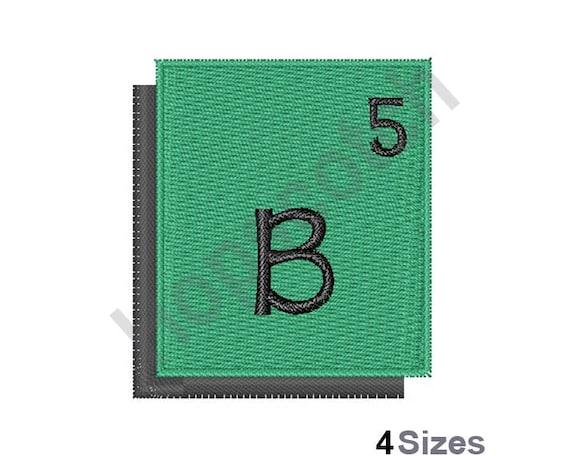 Periodic table boron machine embroidery design boron etsy image 0 urtaz Images