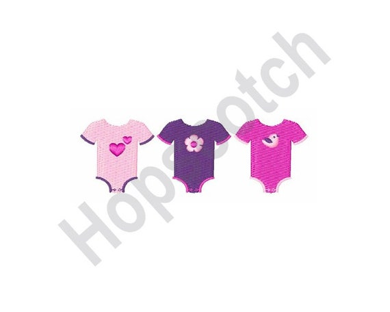 Baby Girl Clothes Machine Embroidery Design Onesies Baby Etsy