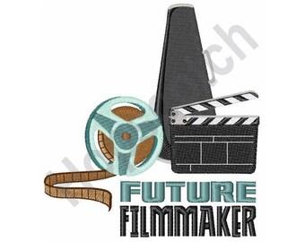 Future Filmmaker - Machine Embroidery Design