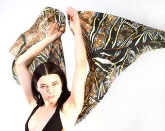 Jessica - Pure Silk Scarf - natural organic form