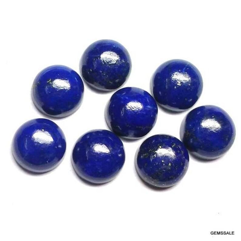 10 pieces 8mm Lapis lazuli cabochon round loose gemstone lapis lazuli cabochon round Gemstone Lapis lazuli round cabochon gemstone