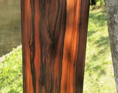Macassar Ebony Slabs, Macassar Wood Slab Table, Coffee Table, Console Table | Live Edge Tabletop, Live Edge Wood Slabs, Natural Wood Tables